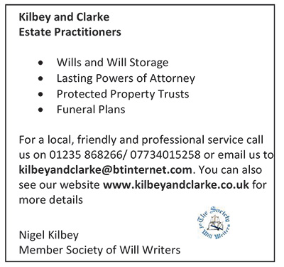 Kilbey and Clarke Call 01235 868266