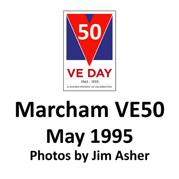 Marcham and District News: VEDay50 - 1995